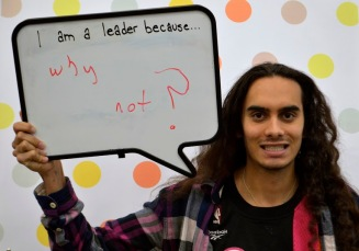 """I am a leader because... why not?"""